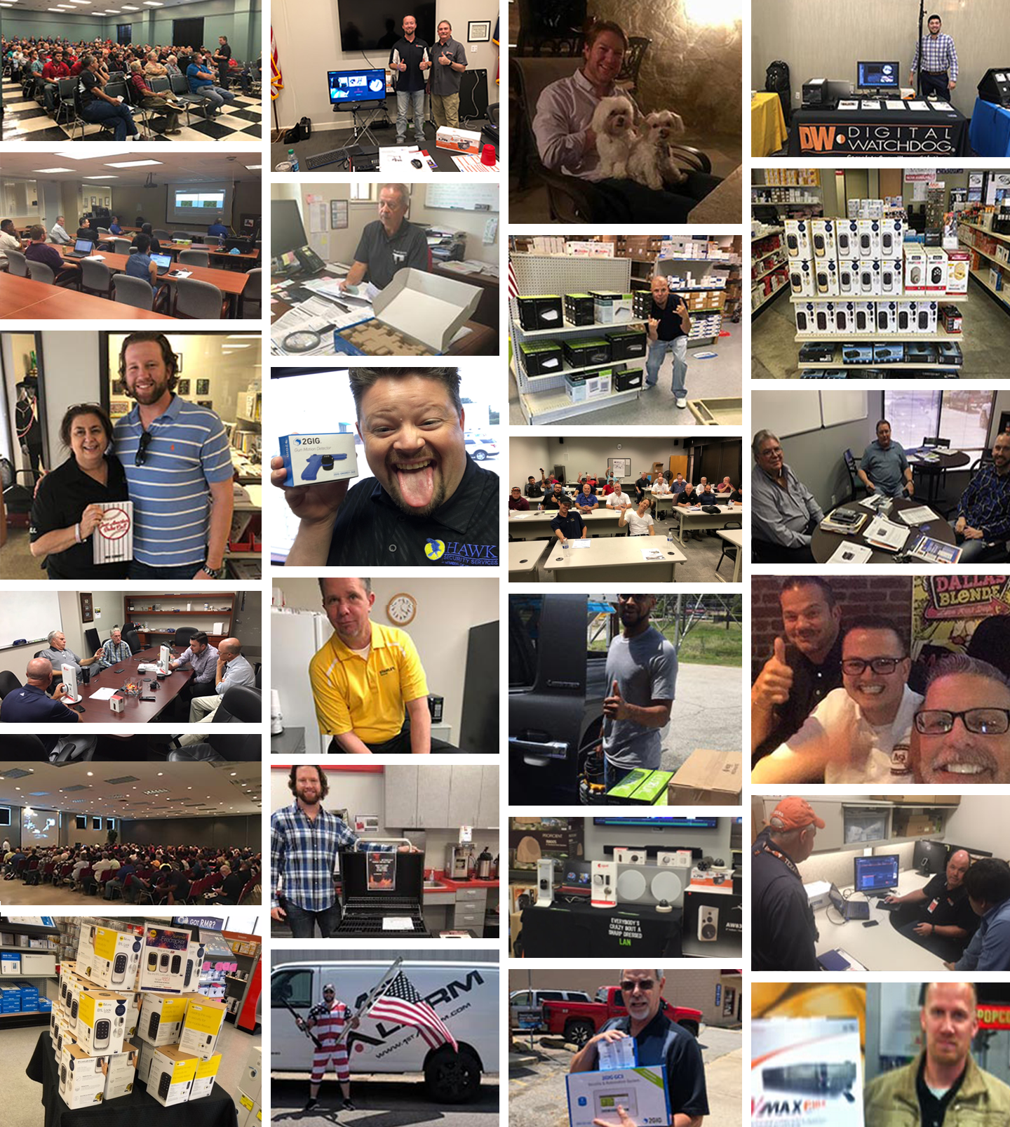 Par Product Team collage